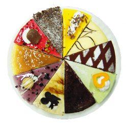 八吋綜合蛋糕14切